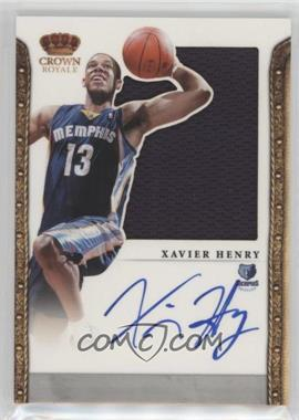2011-12 Panini Preferred - [Base] #338 - Xavier Henry /99