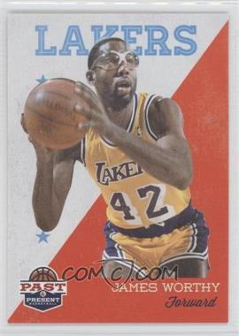 2011-12 Past & Present - [Base] #100 - James Worthy