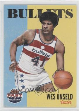 2011-12 Past & Present - [Base] #198 - Wes Unseld