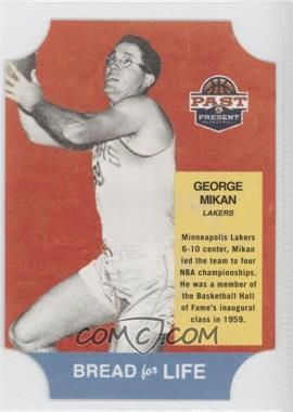 2011-12 Past & Present - Bread for Life #25 - George Mikan