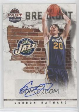 2011-12 Past & Present - Breakout - Signatures [Autographed] #26 - Gordon Hayward