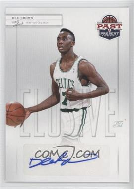2011-12 Past & Present - Elusive Ink #DB - Dee Brown