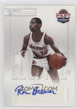 2011-12 Past & Present - Elusive Ink #RB - Ron Brewer