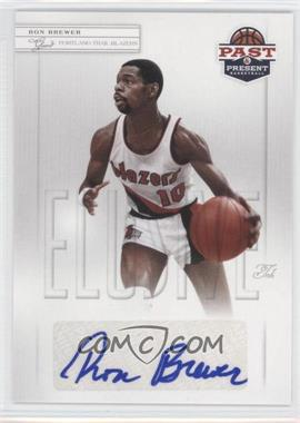2011-12 Past & Present - Elusive Ink #RB - Ron Brewer
