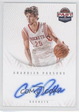 2011-12 Past & Present - Redemption Draft Pick Autographs - [Autographed] #17 - Chandler Parsons