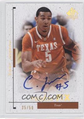 2011-12 SP Authentic - [Base] - Autograph [Autographed] #100 - Cory Joseph /50