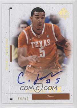 2011-12 SP Authentic - [Base] - Autograph [Autographed] #100 - Cory Joseph /50