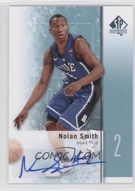 2011-12 SP Authentic - [Base] - Autograph [Autographed] #22 - Nolan Smith