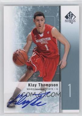 2011-12 SP Authentic - [Base] - Autograph [Autographed] #23 - Klay Thompson