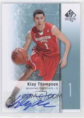 2011-12 SP Authentic - [Base] - Autograph [Autographed] #23 - Klay Thompson
