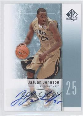 2011-12 SP Authentic - [Base] - Autograph [Autographed] #25 - JaJuan Johnson