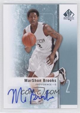 2011-12 SP Authentic - [Base] - Autograph [Autographed] #29 - MarShon Brooks