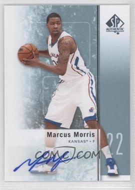 2011-12 SP Authentic - [Base] - Autograph [Autographed] #31 - Marcus Morris
