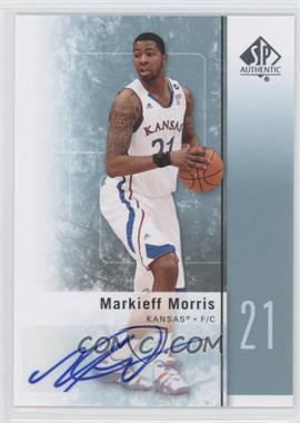 2011-12 SP Authentic - [Base] - Autograph [Autographed] #32 - Markieff Morris