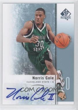2011-12 SP Authentic - [Base] - Autograph [Autographed] #33 - Norris Cole