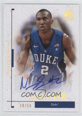 2011-12 SP Authentic - [Base] - Autograph [Autographed] #97 - Nolan Smith /50