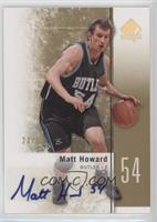 Matt Howard /25