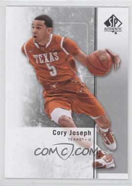 2011-12 SP Authentic - [Base] #34 - Cory Joseph