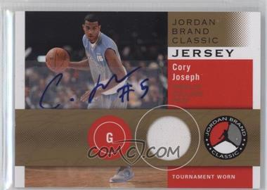 2011-12 SP Authentic - Jordan Brand Classic Jersey - Autographs [Autographed] #JBC-CJ - Cory Joseph