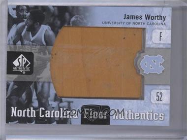2011-12 SP Authentic - North Carolina Floor Authentics #UNC-JW - James Worthy