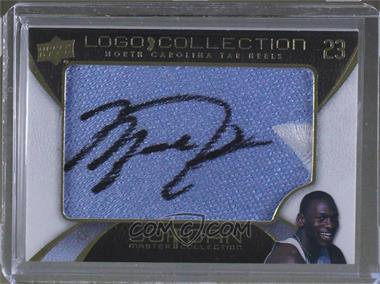 a32891e918f 2011-12 Upper Deck Michael Jordan Master Collection - Logo Collection UNC # UNC-6 - Michael Jordan (Autograph)