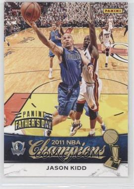 2011 Panini Father's Day - NBA Champions #2 - Jason Kidd /5