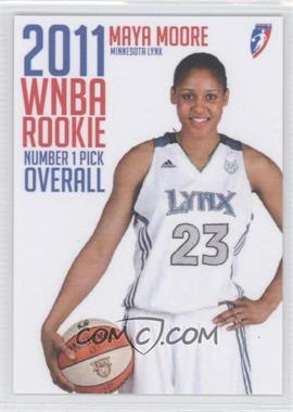 2011 Rittenhouse WNBA - Rookies #R1 - Maya Moore /225