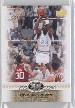 2011 Upper Deck All-Time Greats - [Base] - Gold Spectrum #2 - Michael Jordan /5