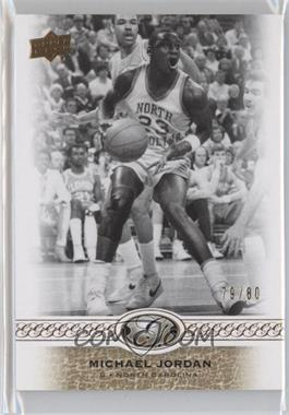 2011 Upper Deck All-Time Greats - [Base] #17 - Michael Jordan /80