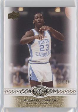 2011 Upper Deck All-Time Greats - [Base] #23 - Michael Jordan /80