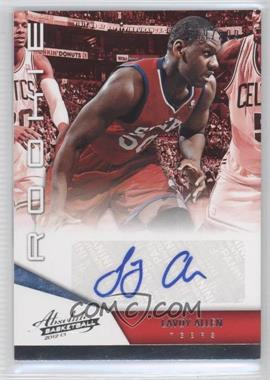 2012-13 Absolute - [Base] #154 - Lavoy Allen /399