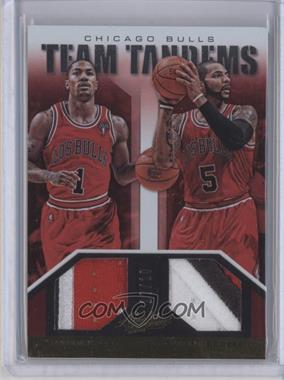 2012-13 Absolute - Team Tandems Jerseys - Prime #22 - Carlos Boozer, Derrick Rose /10