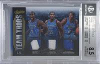Russell Westbrook, Kevin Durant, Serge Ibaka [BGS8.5NM‑MT+] #…