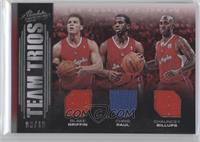 Chauncey Billups, Blake Griffin, Chris Paul /10