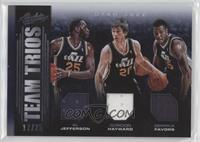 Derrick Favors, Al Jefferson, Gordon Hayward /25