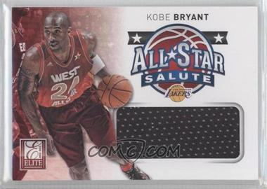 2012-13 Elite - All-Star Salute Materials #1 - Kobe Bryant