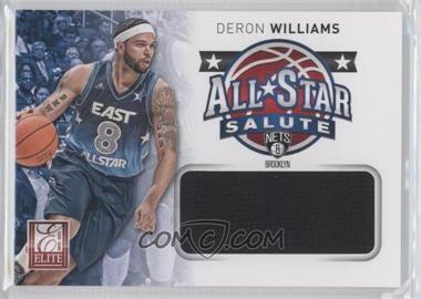 2012-13 Elite - All-Star Salute Materials #11 - Deron Williams