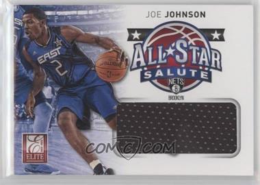 2012-13 Elite - All-Star Salute Materials #16 - Joe Johnson