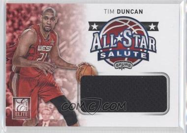2012-13 Elite - All-Star Salute Materials #17 - Tim Duncan