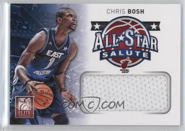 2012-13 Elite - All-Star Salute Materials #22 - Chris Bosh