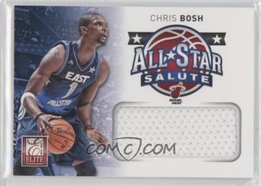 2012-13 Elite - All-Star Salute Materials #22 - Chris Bosh