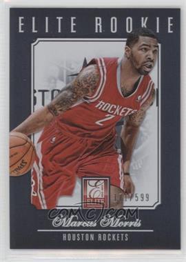 2012-13 Elite - [Base] #214 - Marcus Morris /599
