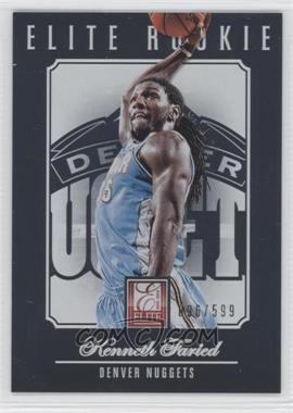 2012-13 Elite - [Base] #221 - Kenneth Faried /599