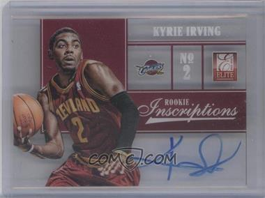 2012-13 Elite - Rookie Inscriptions #1 - Kyrie Irving