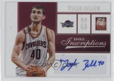 2012-13 Elite - Rookie Inscriptions #13 - Tyler Zeller