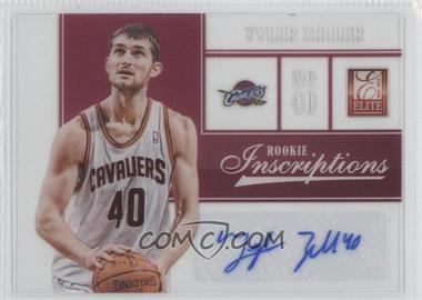 2012-13 Elite - Rookie Inscriptions #13 - Tyler Zeller