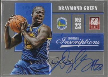 2012-13 Elite - Rookie Inscriptions #20 - Draymond Green