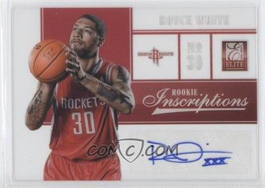 2012-13 Elite - Rookie Inscriptions #27 - Royce White