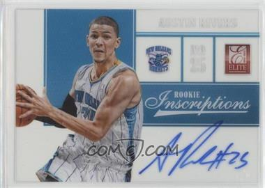 2012-13 Elite - Rookie Inscriptions #29 - Austin Rivers