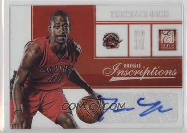 2012-13 Elite - Rookie Inscriptions #30 - Terrence Ross
